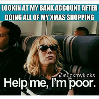 Image result for holiday shopping meme